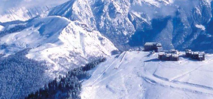 Una estación de esquí francesa tuvo que traer nieve a sus laderas