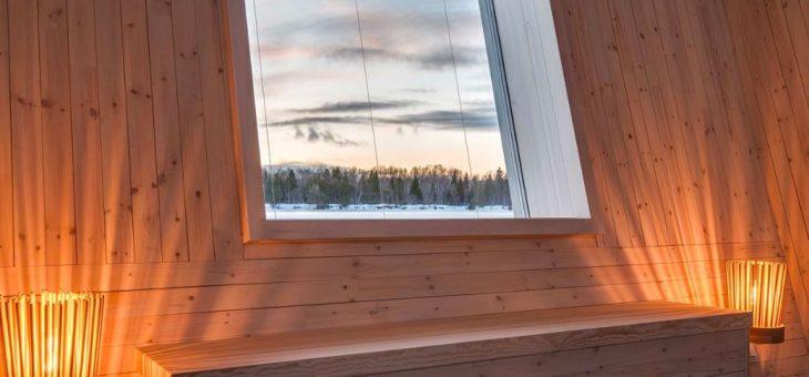 Hay un hotel flotante en Suecia perfecto para ver la aurora boreal