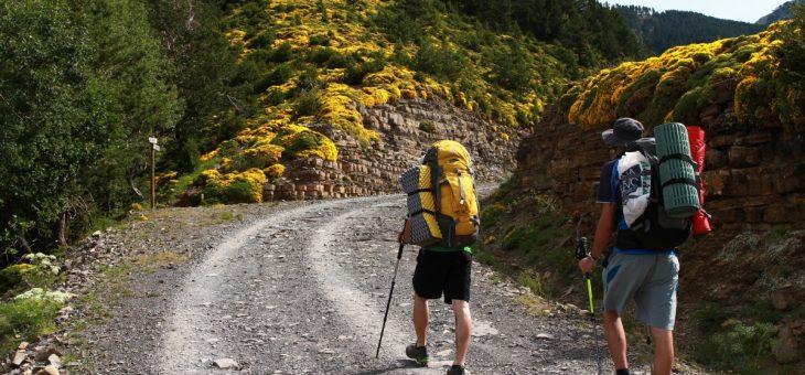 Errores que cometen los excursionistas cuando se pierden en un camino